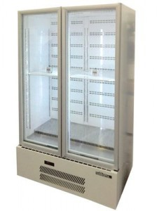 QUARTZ STAR 2 DOOR UPRIGHT FRIDGE – HQS2