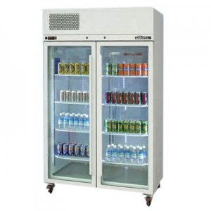 WILLIAMS PEARL STAR- DOUBLE GLASS DOOR UPRIGHT REFRIGERATED CABINET HPS2GDCB