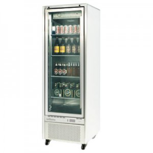 WILLIAMS QUARTZ SINGLE GLASS DOOR UPRIGHT REFRIGERATED CABINET HQ14GDCB