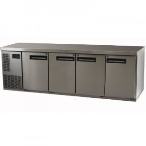 underbench commercial fridge