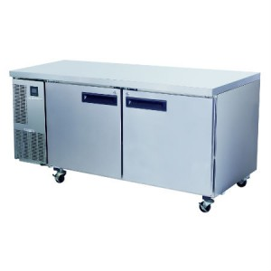 TWO DOORS BENCH FREEZER