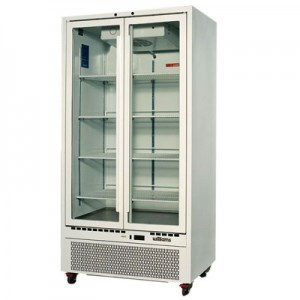 WILLIAMS QUARTZ DOUBLE GLASS DOOR UPRIGHT REFRIGERATED CABINET