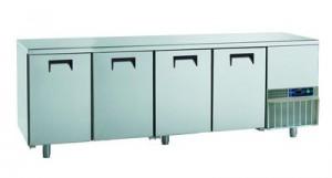4 shelving under bench fridge